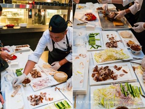 Waitan Sydney peking duck pancakes