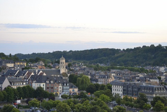 Visit Normandy _ Honfleur from the Ferris Wheel