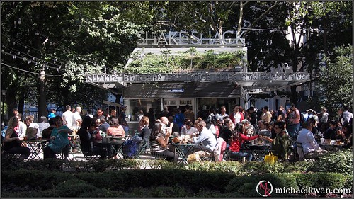 Shake Shack, Madison Square Park, New York City