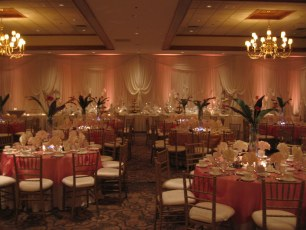 Custom Wedding Draperies by M & P Floral and Event Production