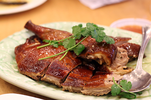 roast duck at Saigon