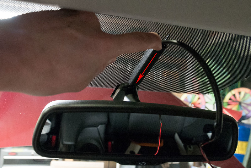 How To Install Auto-dimming Rearview Mirror - 2004 to 2016 Mazda 3