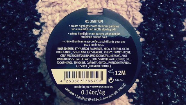 essence cream highlighter