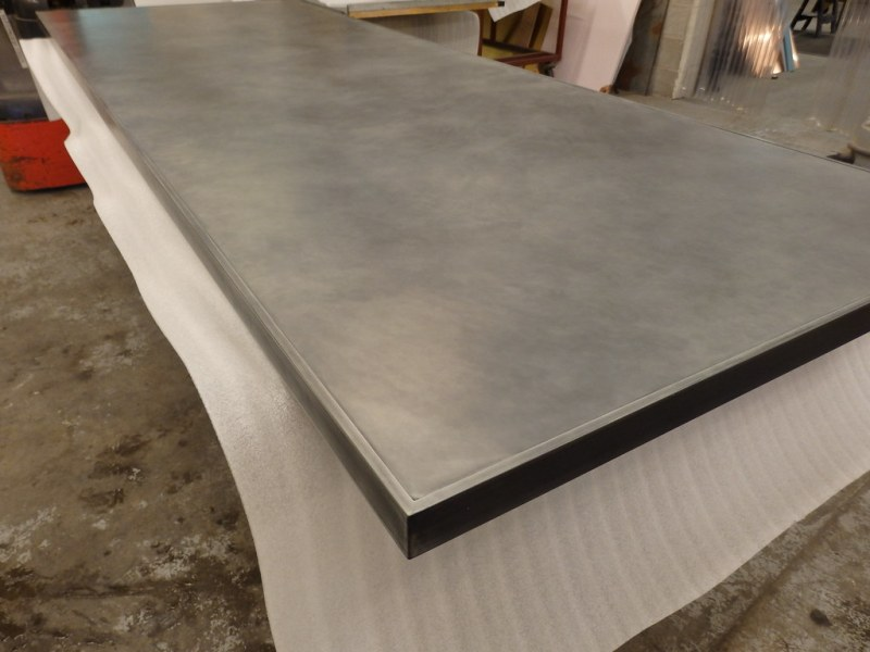 Large Of Zinc Table Top
