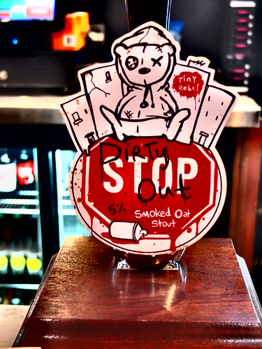 Tiny Rebel Beer : Dirty Stop Out