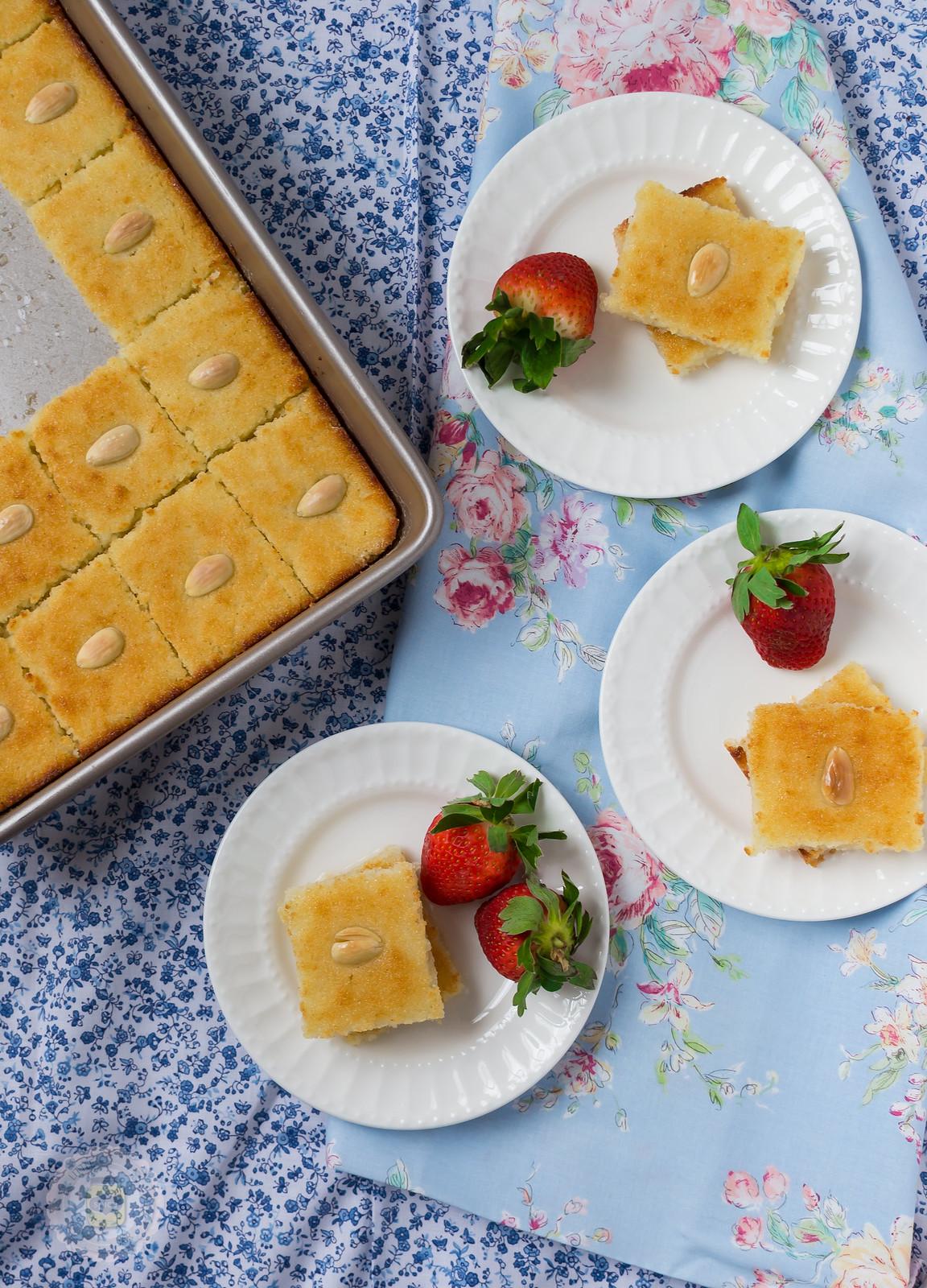 Orange Semolina Cake Recipe By Maria Goretti