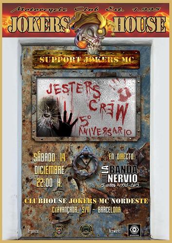 V Aniv. Jesters Crew - Barcelona
