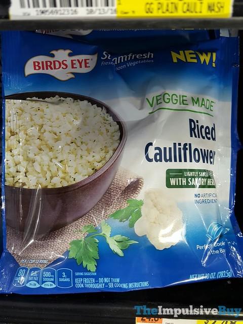 Birds Eye Steamfresh Veggie Made Riced Cauliflower with Savory Herbs