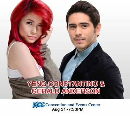 Yeng Constantino, Gerald Anderson