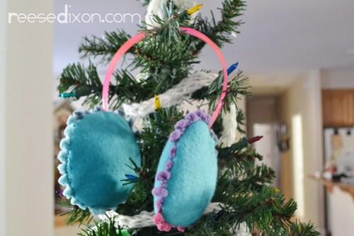 Earmuff Ornament