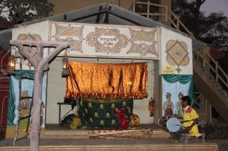 Kathaputali dance show - puppet
