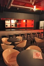 The upstairs bar   The Fox Cabaret