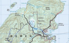 Map of Bowen