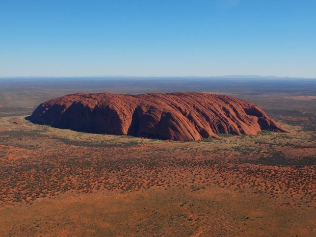 Uluru from the Air