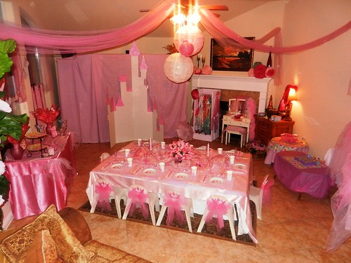 Decoraci n y dise o de cumplea os de princesas blogicasa for Decoracion cumpleanos princesas