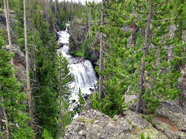 Waterfalls, Kepler Cascades, Yellowstone National Park