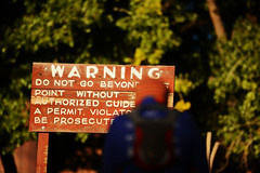 Warning Sign (Photo: Mylo Fowler)