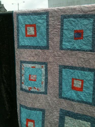 huck's quilt detail