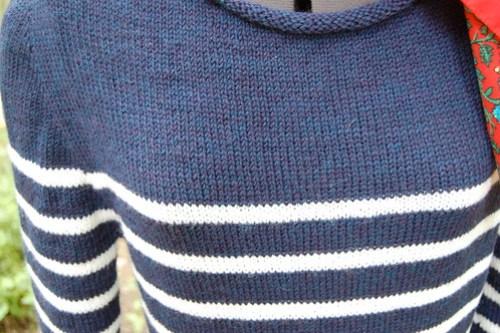 Breton-style sweater