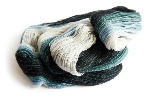 Stormborn handspun yarn