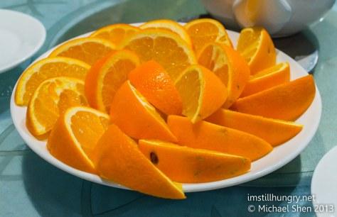 Oranges iron chef