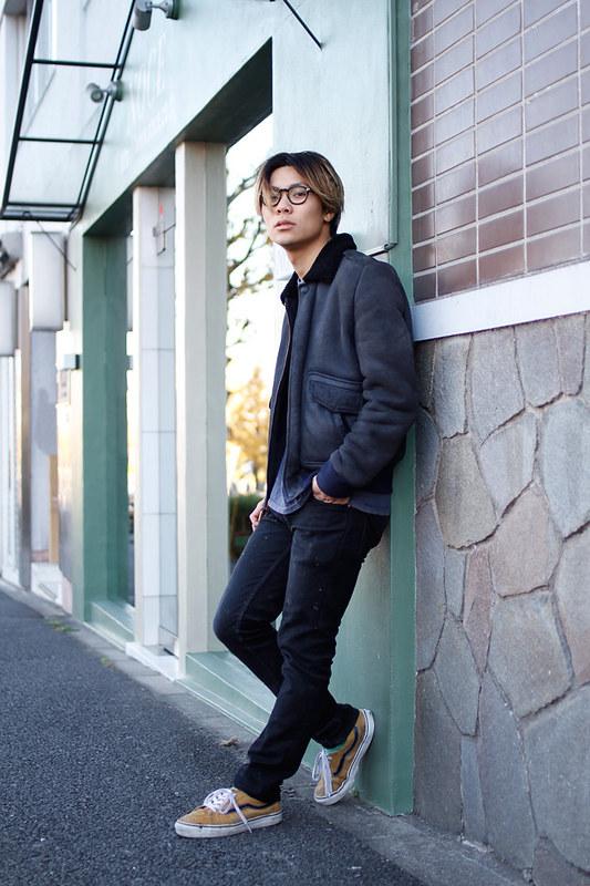 Drop Tokyo Street Style - Area- Shibuya,Tokyo | 渋谷,東京 Name- Shintaro Takagi | 高木信太朗