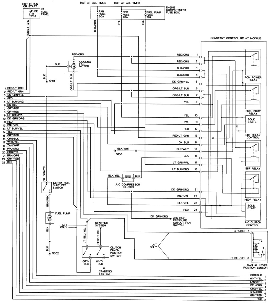88 ford gt wiring diagram