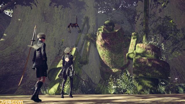 NieR: Automata 森林地帯