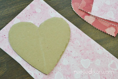 Valentine Heart Bouquet Step 5