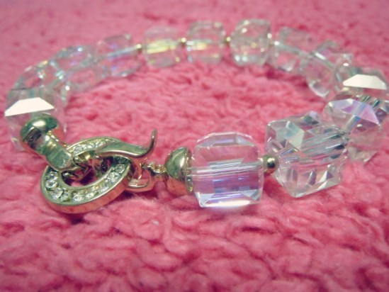 Clear Bauble Bracelet