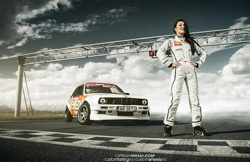 Bmw M5 Girl Wallpaper Drift Girl Bmw E30 M5engine My New Shot With Ramona Rusu