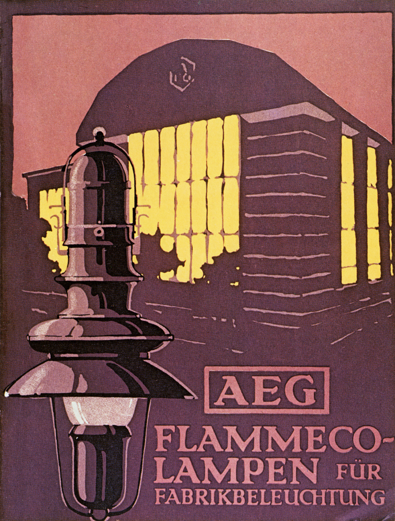 Lampe N Aeg Flammeco Lampen Für Fabrikbeleuchtung Brochure Cover Flickr