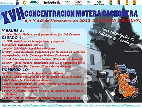 XVII Concentración Motera Cachonera - Calaroza