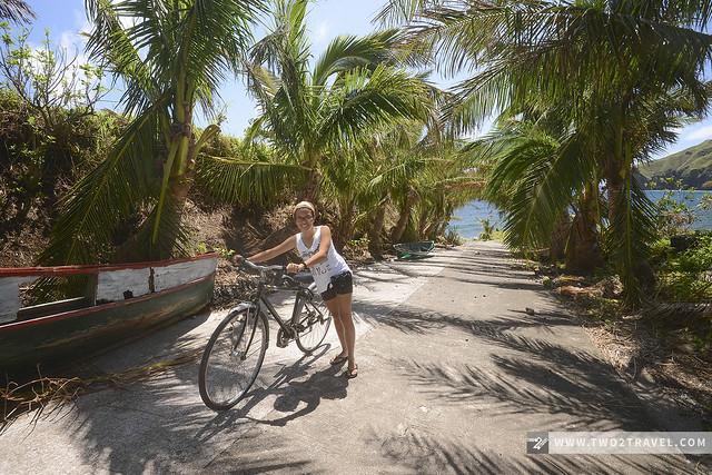 Biking to Valugan Boulder Beach, Basco, Batan Island, Batanes - Two2Travel.com