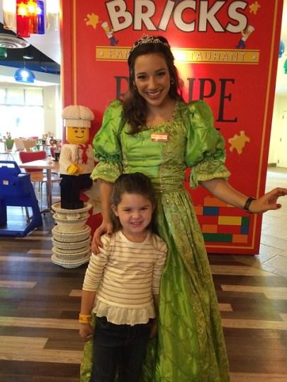 apparently Lego has princesses?