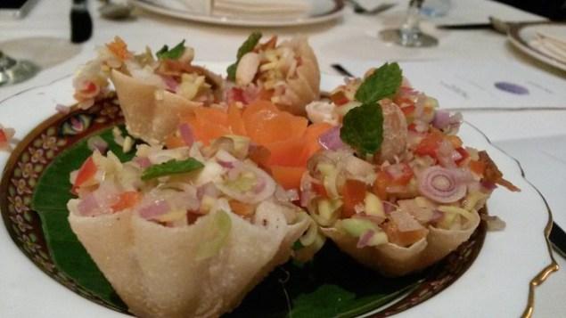 Thai food at Benjarong