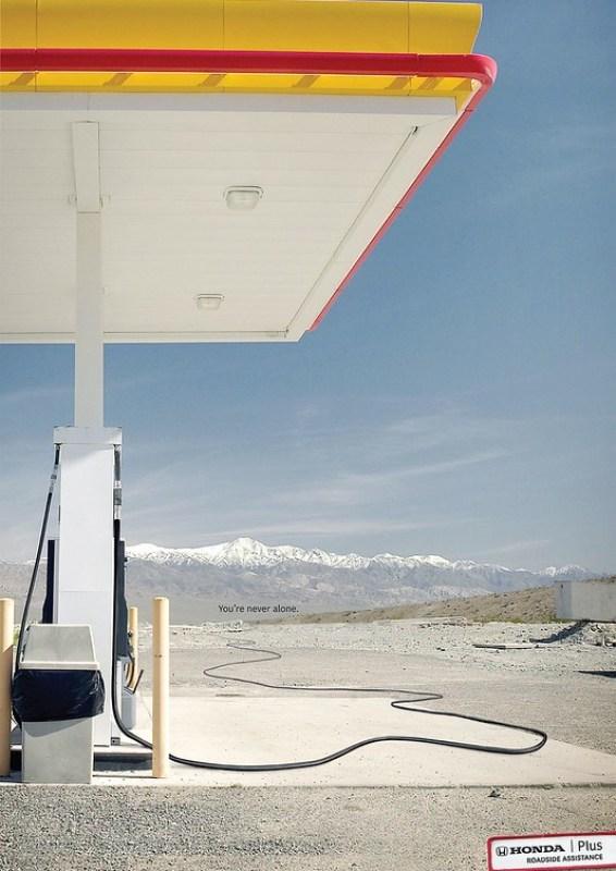 Honda - Never Alone Gas