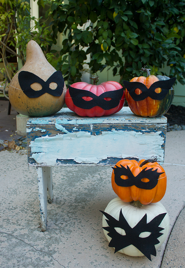 Who are those masked pumpkins