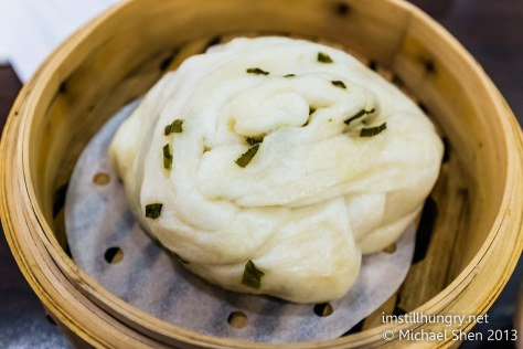 Steamed chive roll new shanghai