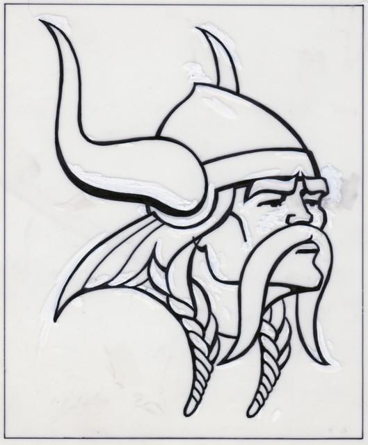 Minnesota Vikings Logo Design Sketch