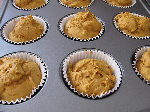 2 Point Pumpkin Spice Muffins