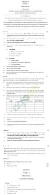 ISC Class 12 Biology Sample Paper 2