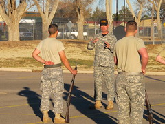 NMMI Goss Rifles Drill Team Training