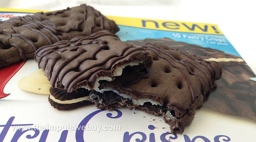 Special K Cookies & Creme Pastry Crisps Closeup