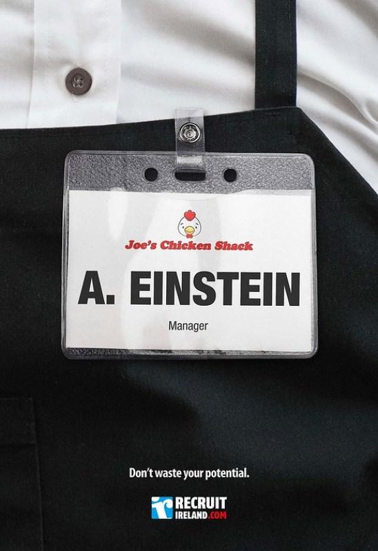 Recruit Island - A Einstein