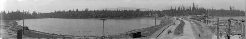 Lost Lagoon & Rowing Club, 1921 copy