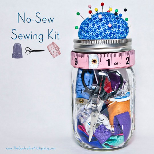 No-Sew Sewing Kit