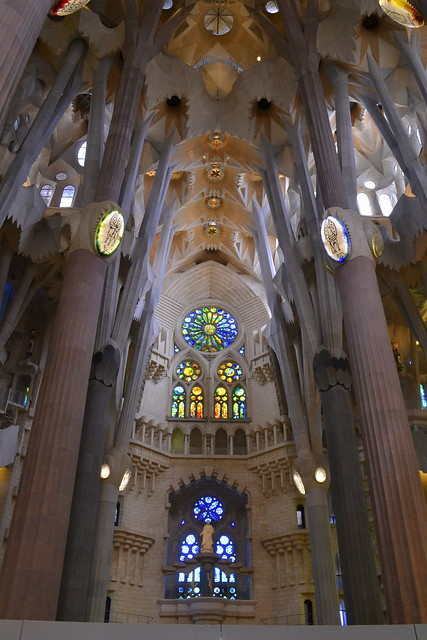 Weekend in Barcelona_Inside Sagrada Familia
