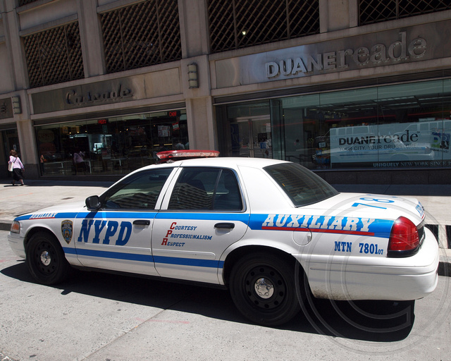 P018s NYPD Auxiliary Police Patrol Car, Midtown North, New\u2026 Flickr