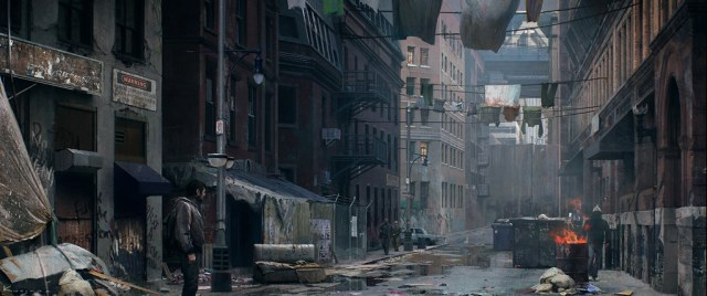 Concept art from The Last Of Us